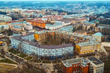 С высоты птичьего полёта: улица Маршала Жукова