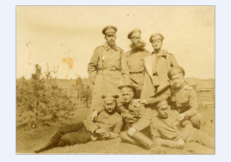 Период революции 1917 года: 56-я артиллерийская бригада, дислоцированная в Смоленске