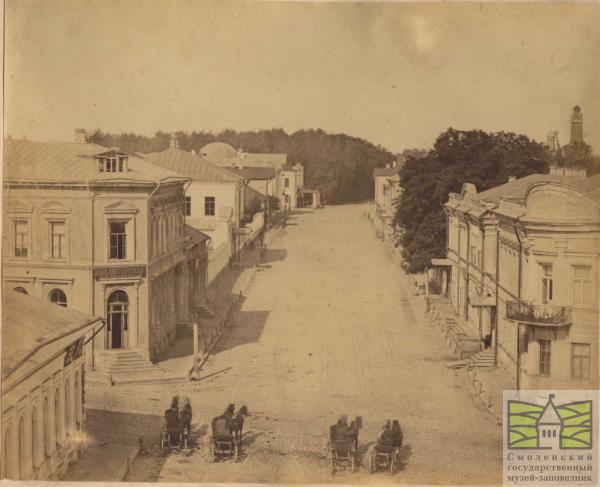 Кирочная улица и Блонье (ныне — улица Ленина)