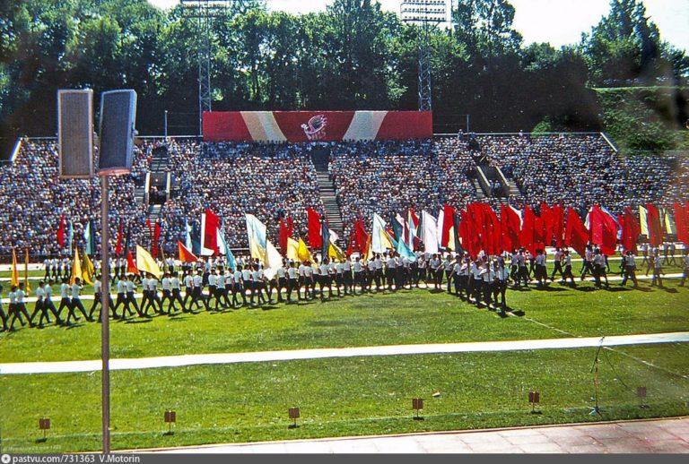 Праздник 1125-летия Смоленска на стадионе «Спартак», 1988