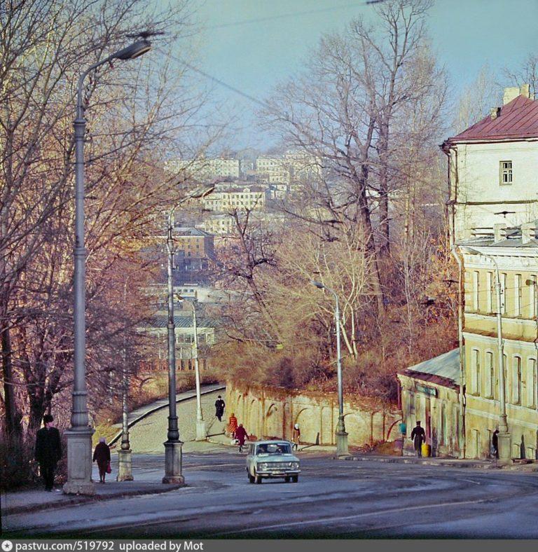 Спуск с улицы Большой Советской, 1972-1975