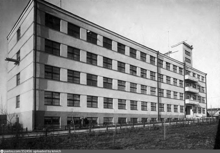 Управление Желдорстроя на Киевском шоссе, 1934-1935