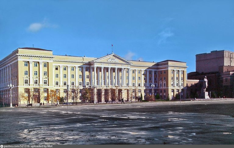 Площадь Ленина, 1972-1974