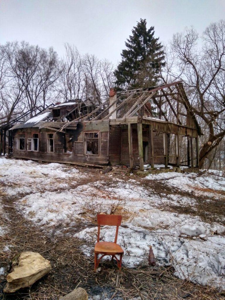 Уходящий Смоленск: деревянный дом на Войкова