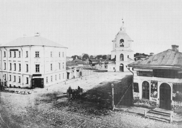 Одигитриевская церковь на ул. Ленина, ныне не существует (разобрана в 30-х годах XX века)