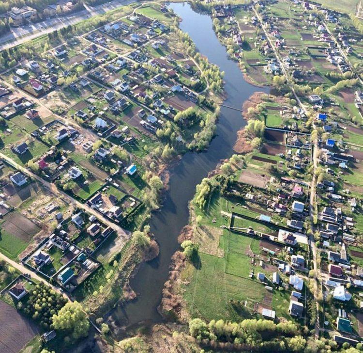 Река Нагать и одноимённая деревня