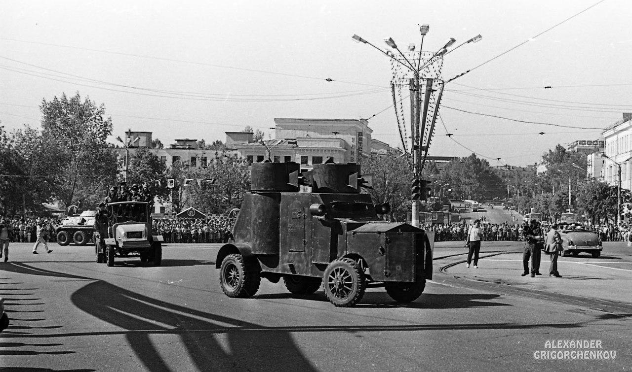 Фотографии с празднования 1125-летия Смоленска, 1988 год