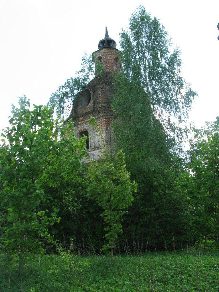 Церковь Казанской иконы Божией Матери в Старом Максимково, Рославльский район