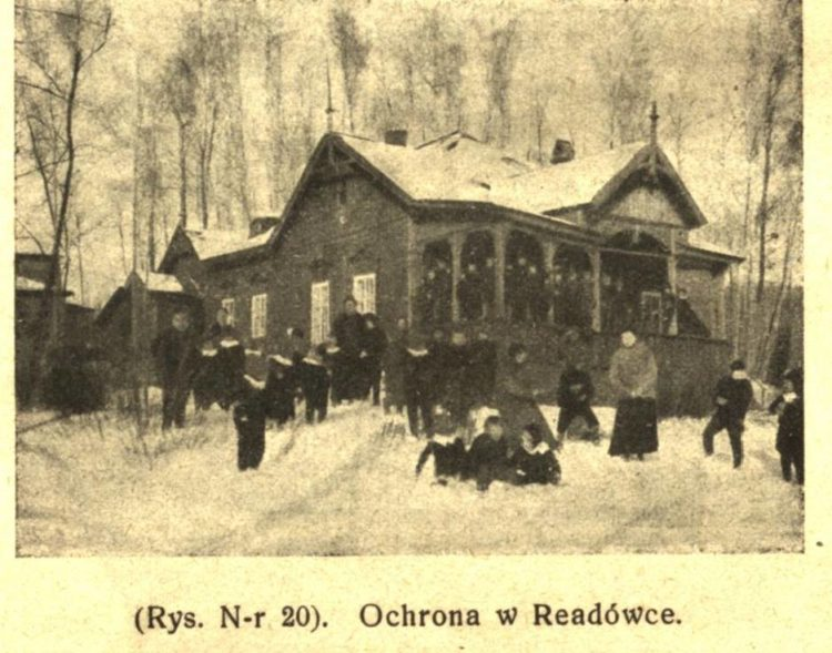 Польский детский приют в Реадовке, 1915-1918