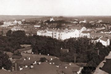 Панорама города начала XX века в высоком качестве