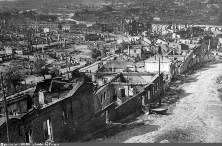 Северо-западная часть города, 1941