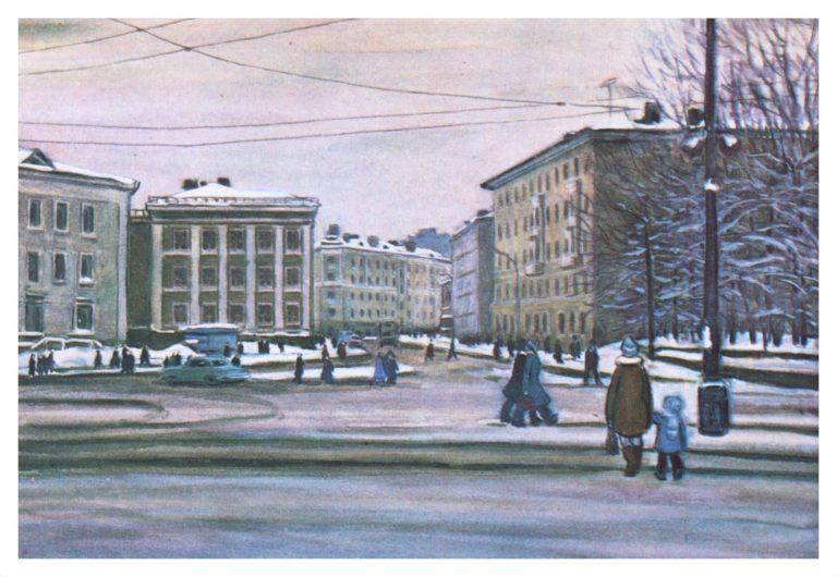 На площади Смирнова