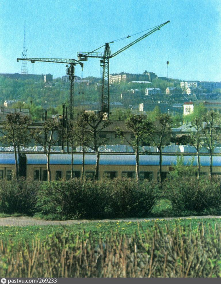 Вид с Витебского шоссе, 1972