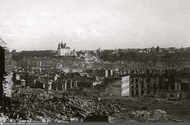 Вид Смоленска с Покровской горы, 1941