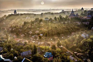 Исторический центр города на волшебной фотографии от Александра Григорченкова