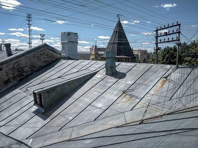 Романтика смоленских крыш