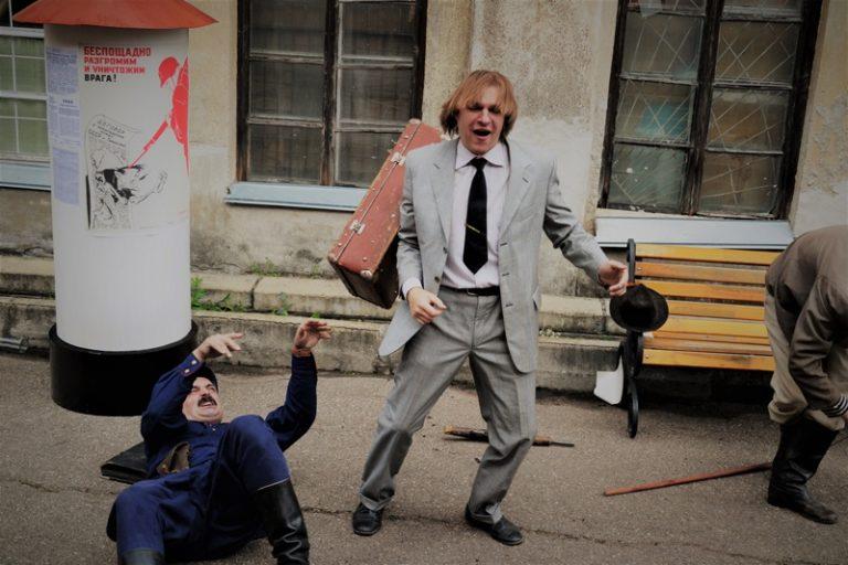 """""""Смоленск - лето 41-го"""" - выступление от исторического театра """"Порубежье"""" 8 июля 2018 года"""