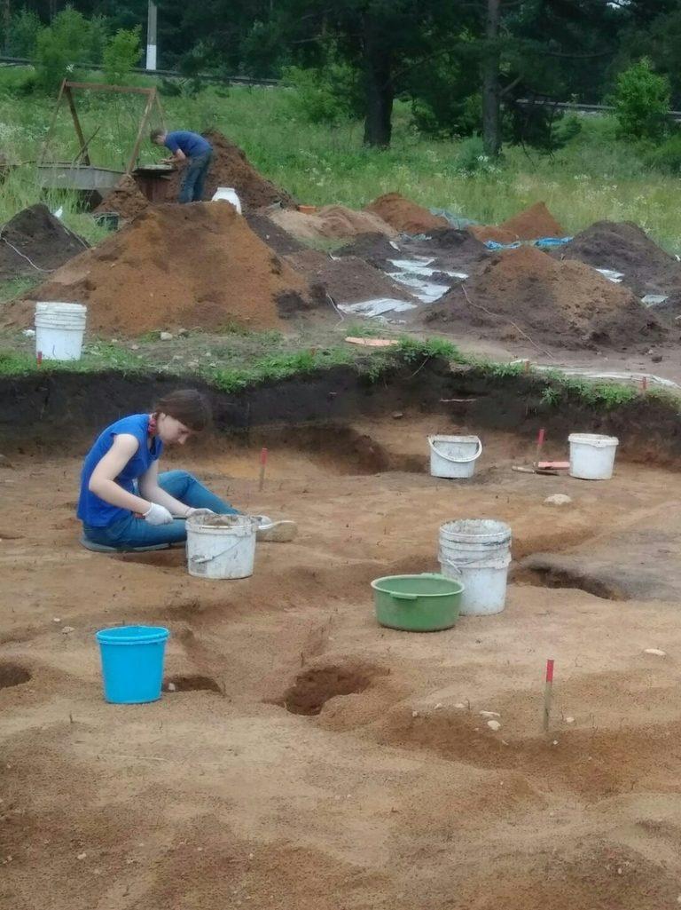 Будни археологов. Гнёздово