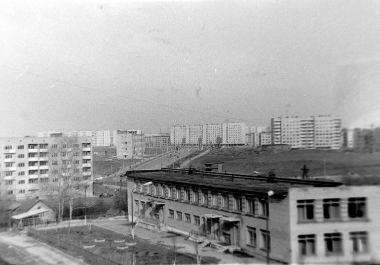Фотографии улицы 25 сентября, конец 1970-х
