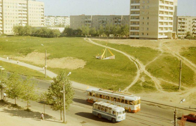 Улица 25 сентября, 1988 год