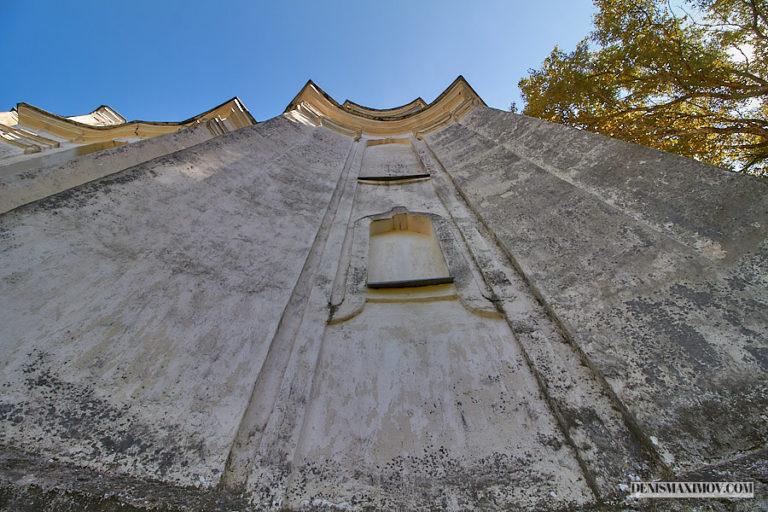 Церковь в селе Любавичи Руднянского района