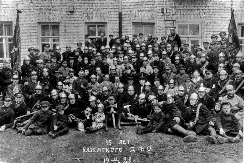 8 сентября — День образования Смоленского Вольного Пожарного Общества