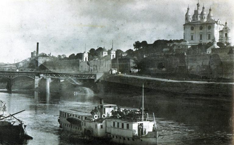 Пароход «Удалой» на Днепре, 1918