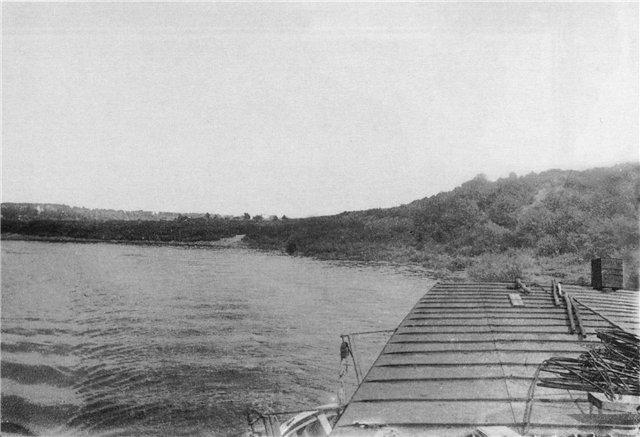 Окрестности Смоленска с палубы парохода «Удалой», 1913 год. Фото Е.Н. Клетновой.