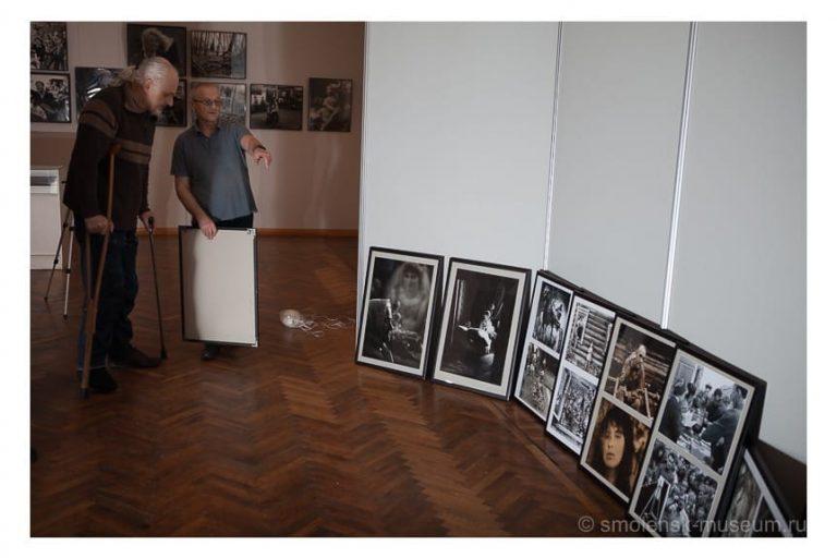 """Ретроспективная выставка смоленской фотографии """"И была жизнь"""""""