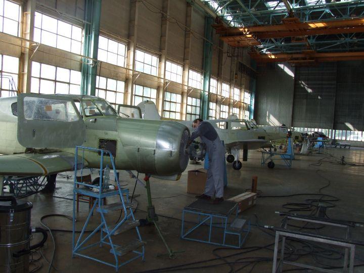 Краткая история Смоленского авиационного завода