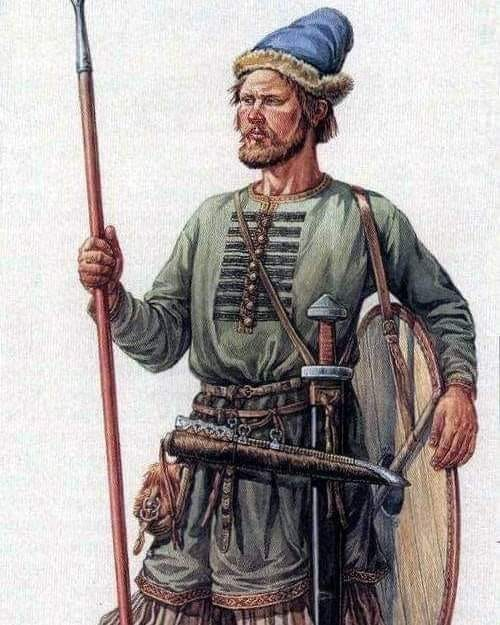 Русский воин X века — типичный житель древнего Смоленска