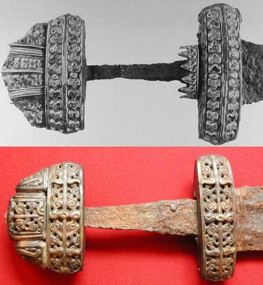 Два меча — из Ирландии и из Гнёздово