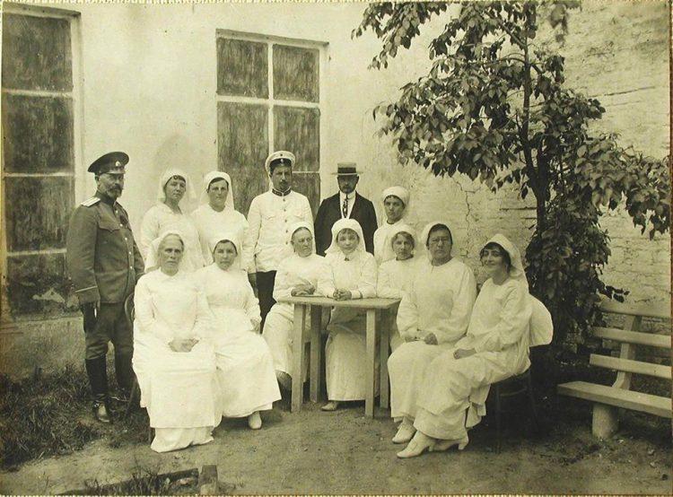Госпиталь имени Царевича Алексея в Смоленске, 1915 год