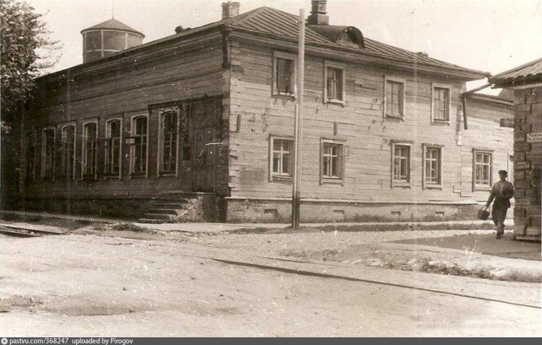 pastvu.com, 1942, Краснознамённая (Музейная) улица