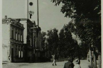 Пожарная каланча во времена оккупации — редкая фотография Смоленска