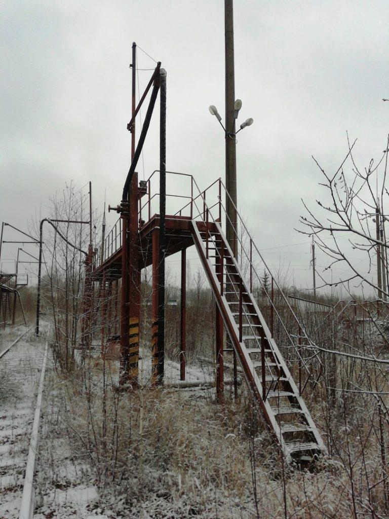 Сталкерские снежные пейзажи в районе ТЭЦ-2