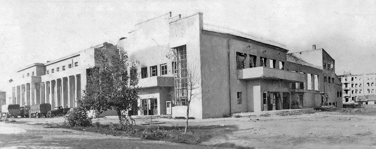 Главный корпус училища. Вид с юго-запада (со стороны современной ул. Котовского.