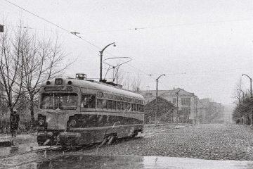 Улица Краснознаменная (ныне улица Исаковского), Смоленск, 1964 год